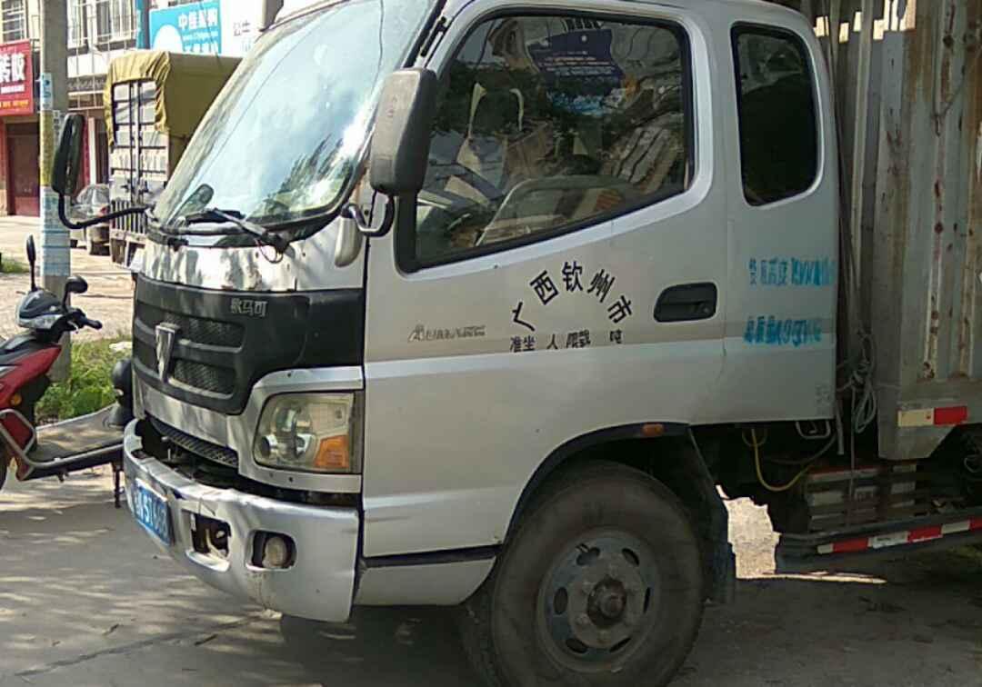 福田欧曼其他车系 载货车  120匹 2012年07月 4x2