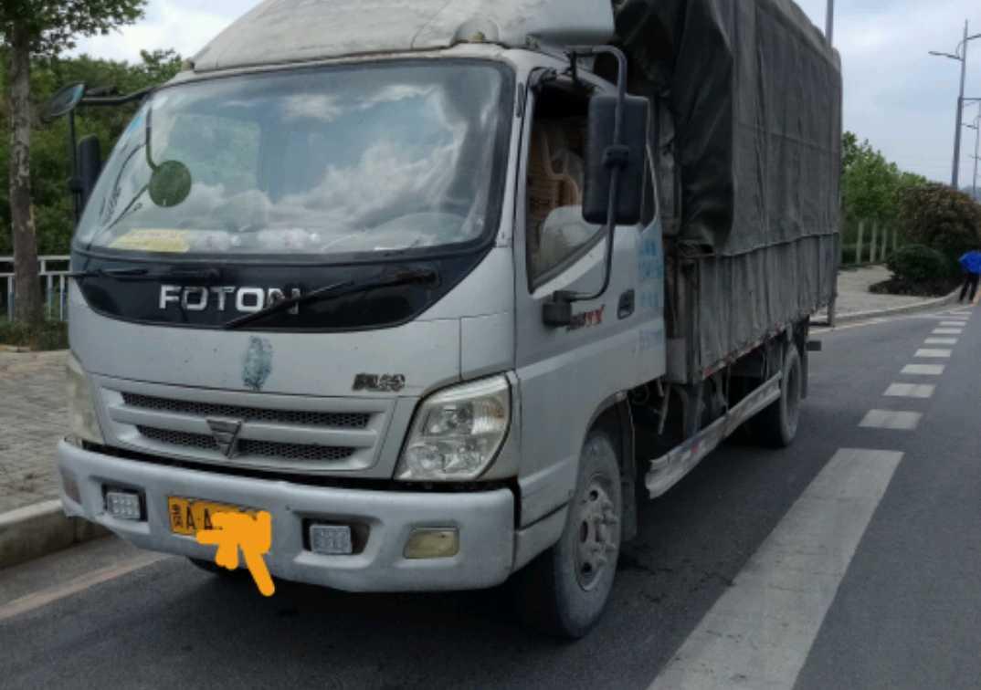 北汽福田其他车系 载货车  160匹 2011年12月 4x2