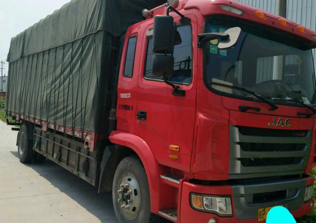 江淮格尔发K3X重卡 轻量化 载货车  165匹 2015年09月 4x2