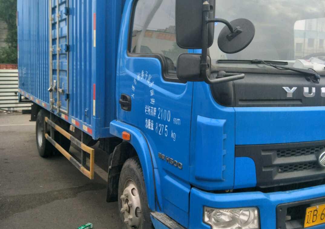 南京依维柯跃进 载货车  120匹 2013年12月 4x2