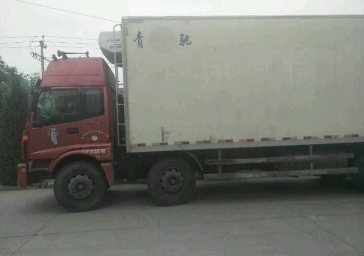 福田欧曼 冷藏车  260匹 2011年08月 8x4