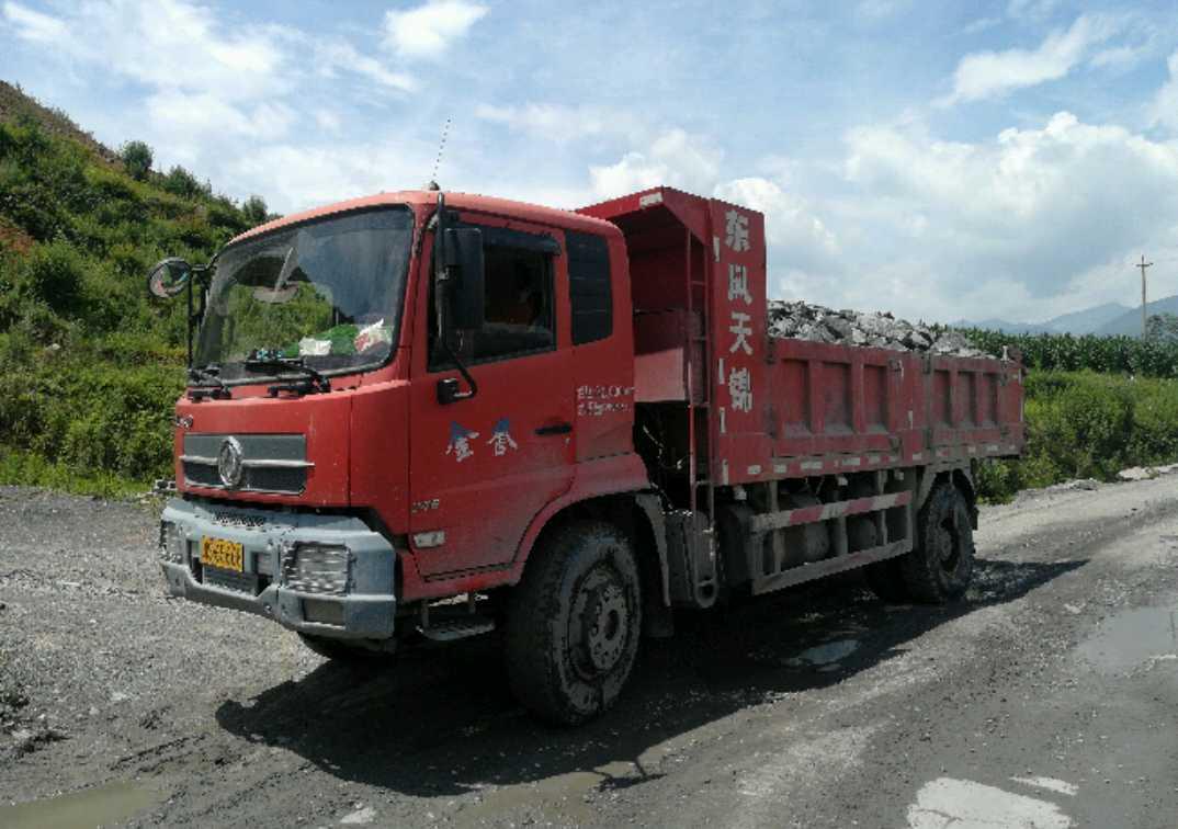 东风天锦 自卸车  240匹 2013年03月 4x2