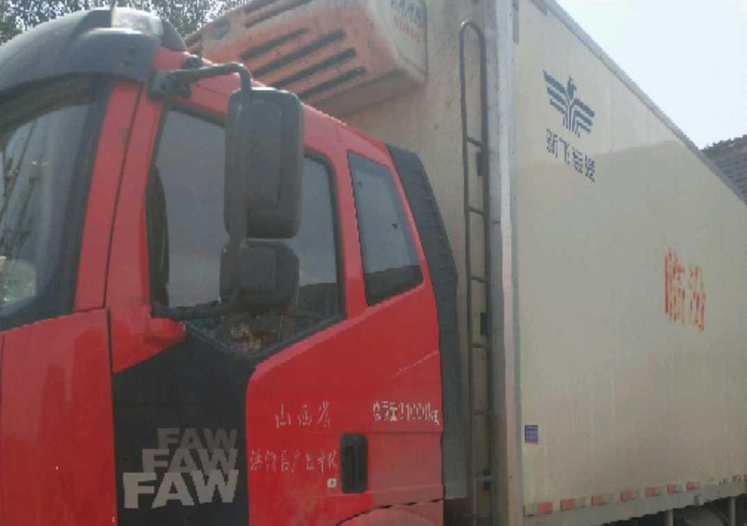 一汽解放J6 冷藏车  300匹 2016年05月 8x4