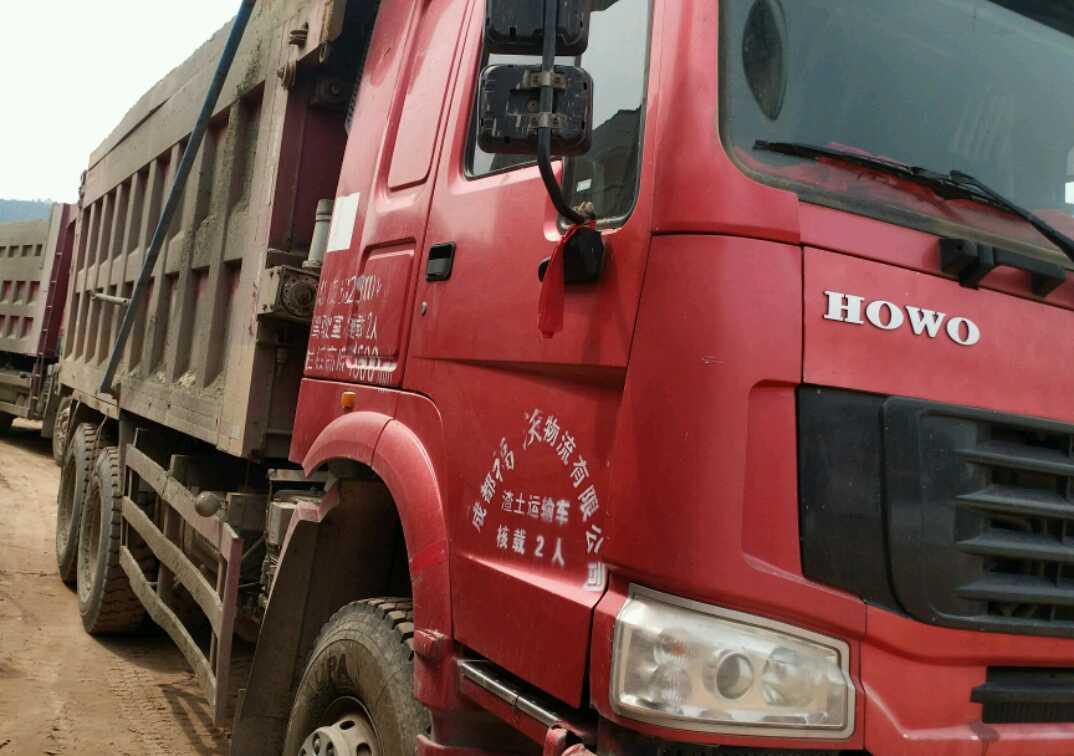 中国重汽HOWO 自卸车  375匹 2013年04月 6x4