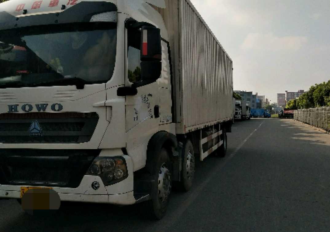 中国重汽HOWO 载货车  280匹 2015年12月 6x2
