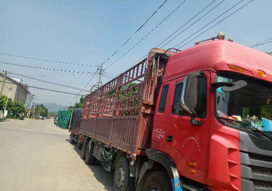 江淮格尔发K5L中卡 重载型 载货车  290匹 2013年06月 8x4