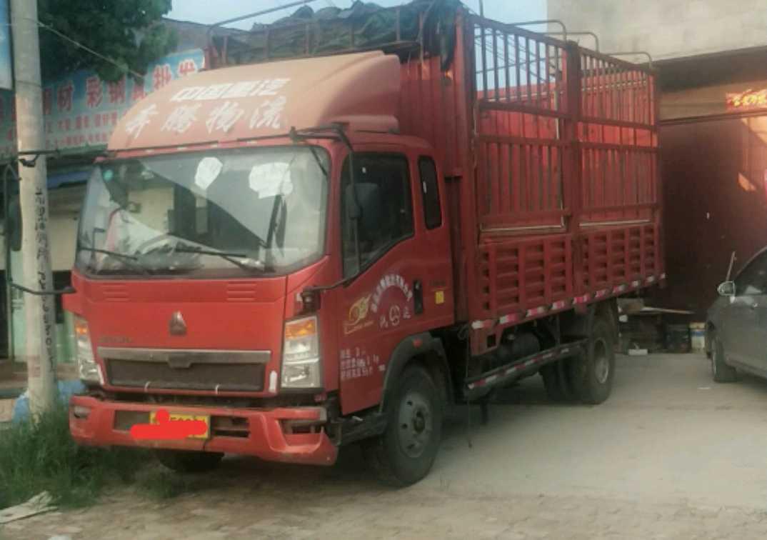 中国重汽HOWO 载货车  140匹 2015年05月 4x2