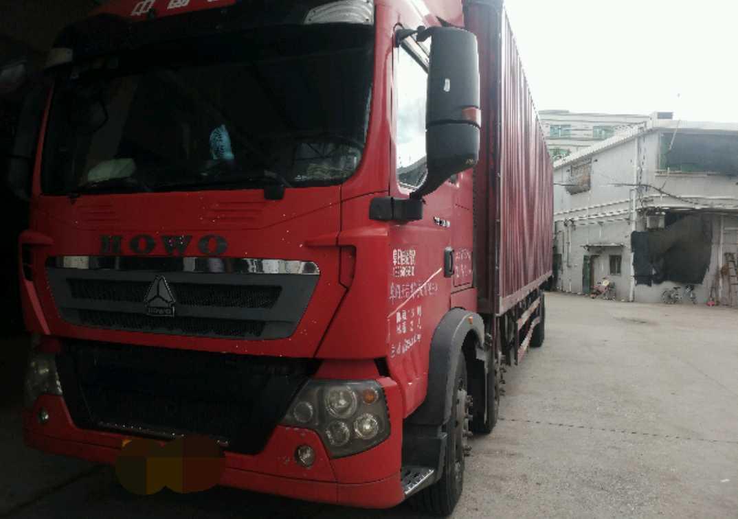中国重汽HOWO T5G重卡 载货车  240匹 2015年04月 6x2
