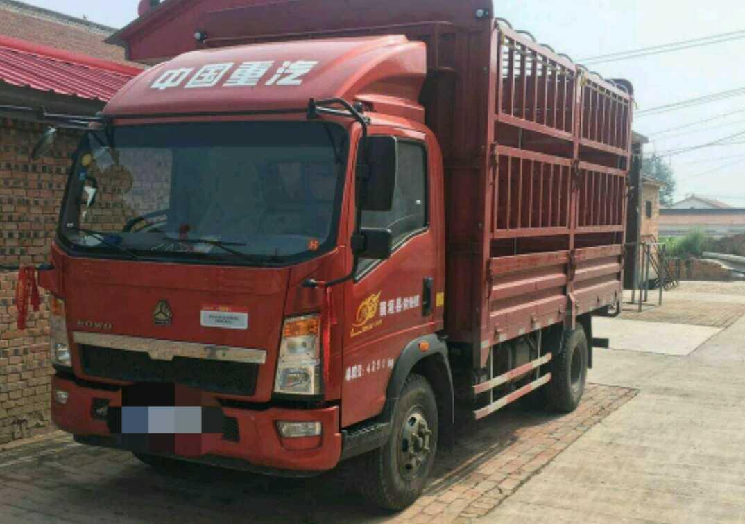 中国重汽HOWO 载货车  130匹 2018年06月 4x2