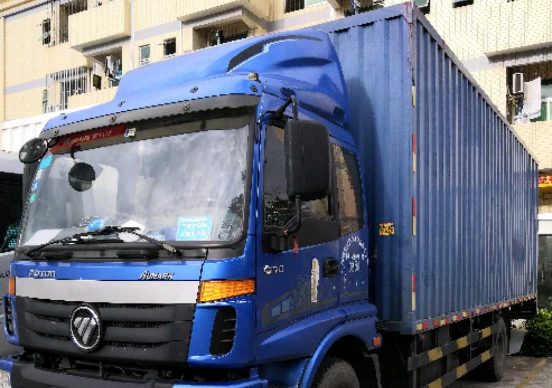 福田欧曼其他车系 载货车  170匹 2014年06月 4x2