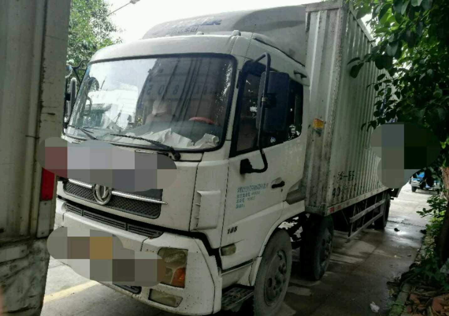 东风天锦 载货车  220匹 2014年08月 6x2