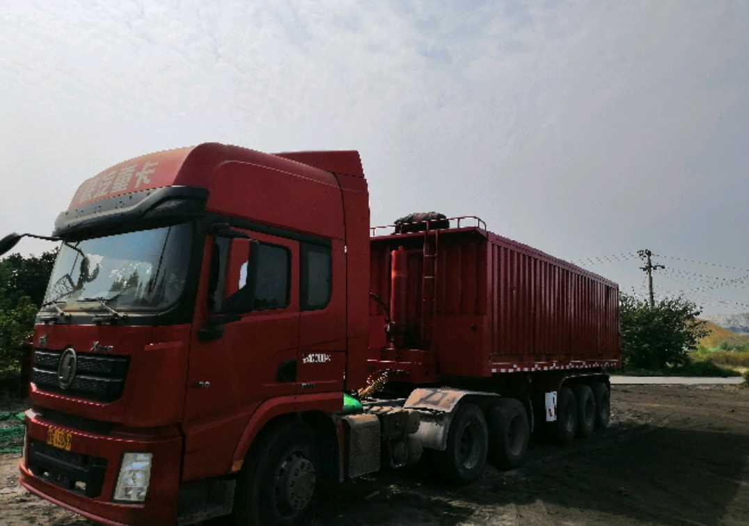 陕汽德龙X3000 牵引车  340匹 2017年06月 6x4