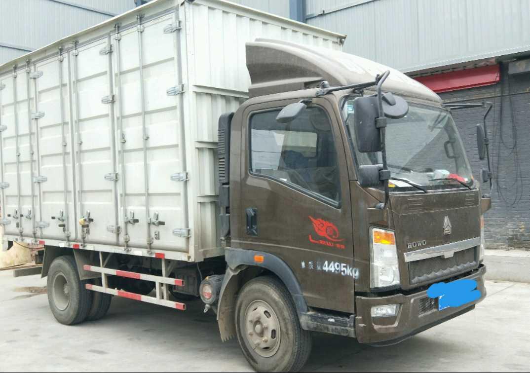 中国重汽统帅 载货车  160匹 2017年11月 4x2