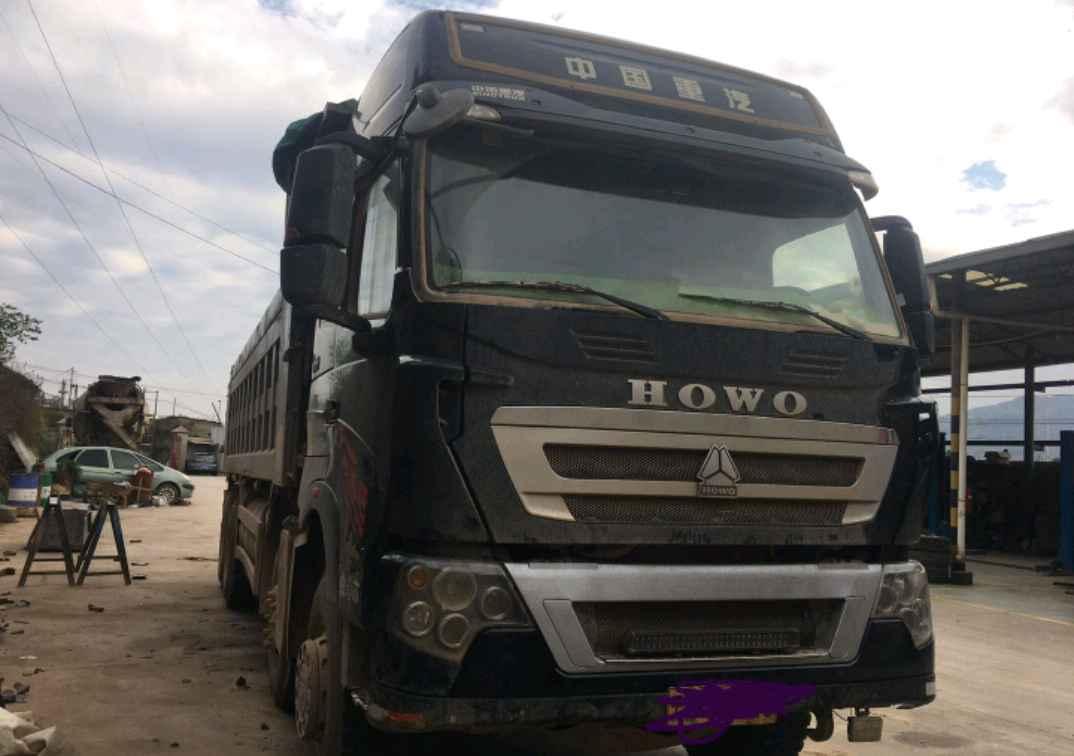 重汽豪沃(HOWO)HOWO T7H重卡 自卸车  440匹 2017年07月 8x4