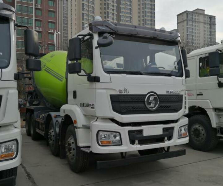 陜汽德龍新M3000 混凝土攪拌車  375匹 2020年03月 8x4