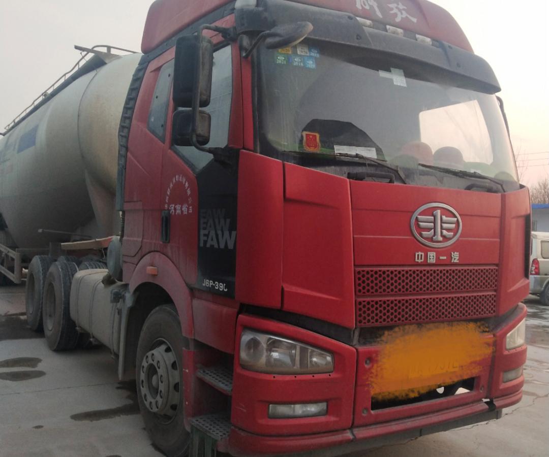 一汽解放J6P重卡 牵引车  390匹 2018年04月 6x4