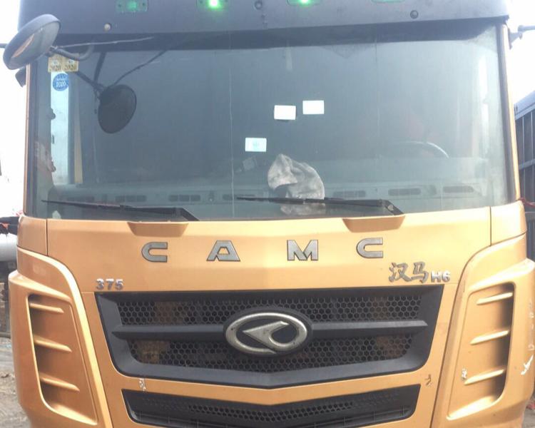 华菱汉马H6重卡 牵引车  375匹 2016年11月 6x4