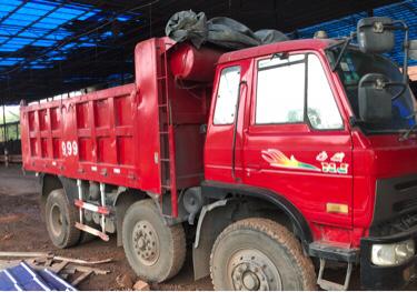 南骏祥康 自卸车  210匹 2012年11月 6x2
