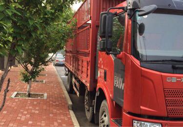 一汽解放J6L中卡 标载型 载货车  220匹 2016年10月 6x2