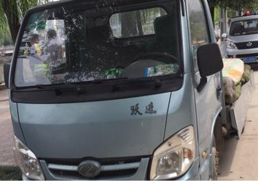 南京依维柯跃进 载货车  90匹 2013年12月 4x2