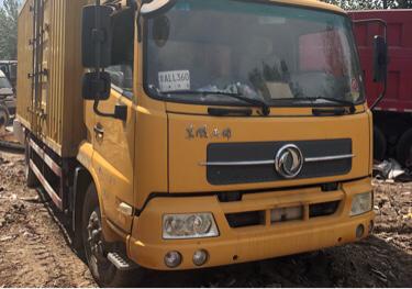 东风天锦 载货车  160匹 2012年02月 4x2