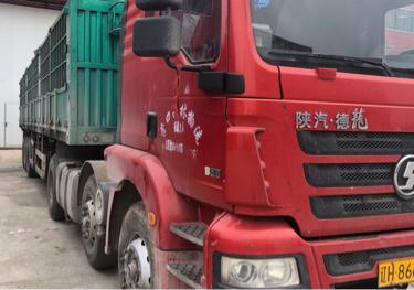陜汽德龍M3000 牽引車  385匹 2016年04月 6x4