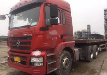 陕汽德龙新M3000 牵引车  350匹 2015年11月 6x4