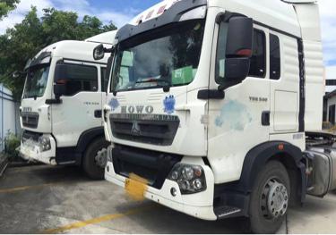 重汽豪沃(HOWO)HOWO T5G重卡 牵引车  340匹 2016年03月 4x2