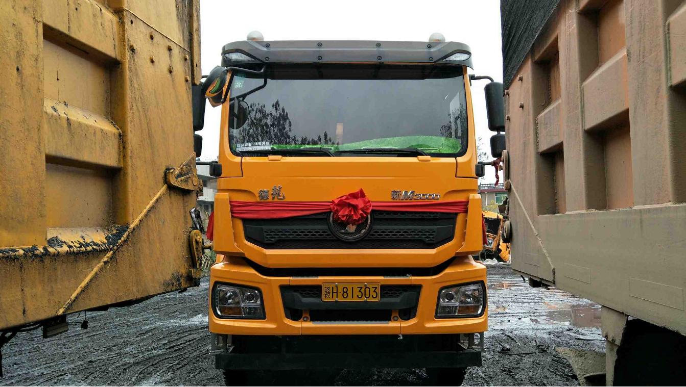 陜汽德龍新M3000 自卸車  375匹 2017年11月 8x4