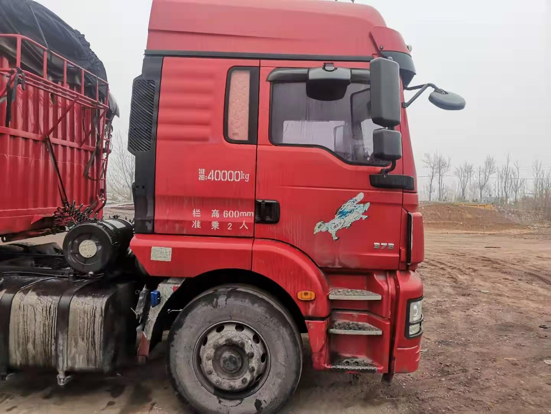 陜汽德龍X3000 牽引車  300匹2016年11月 6×4 國四