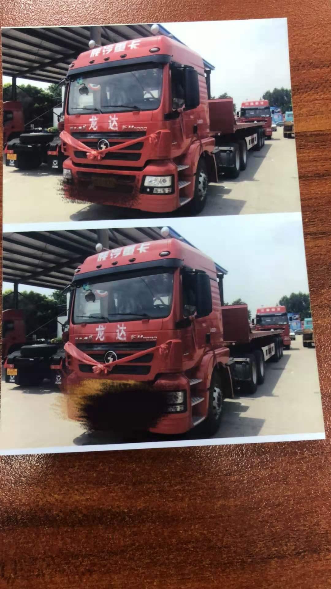 陜汽德龍M6000 牽引車  300匹2014年08月 4×2 國四