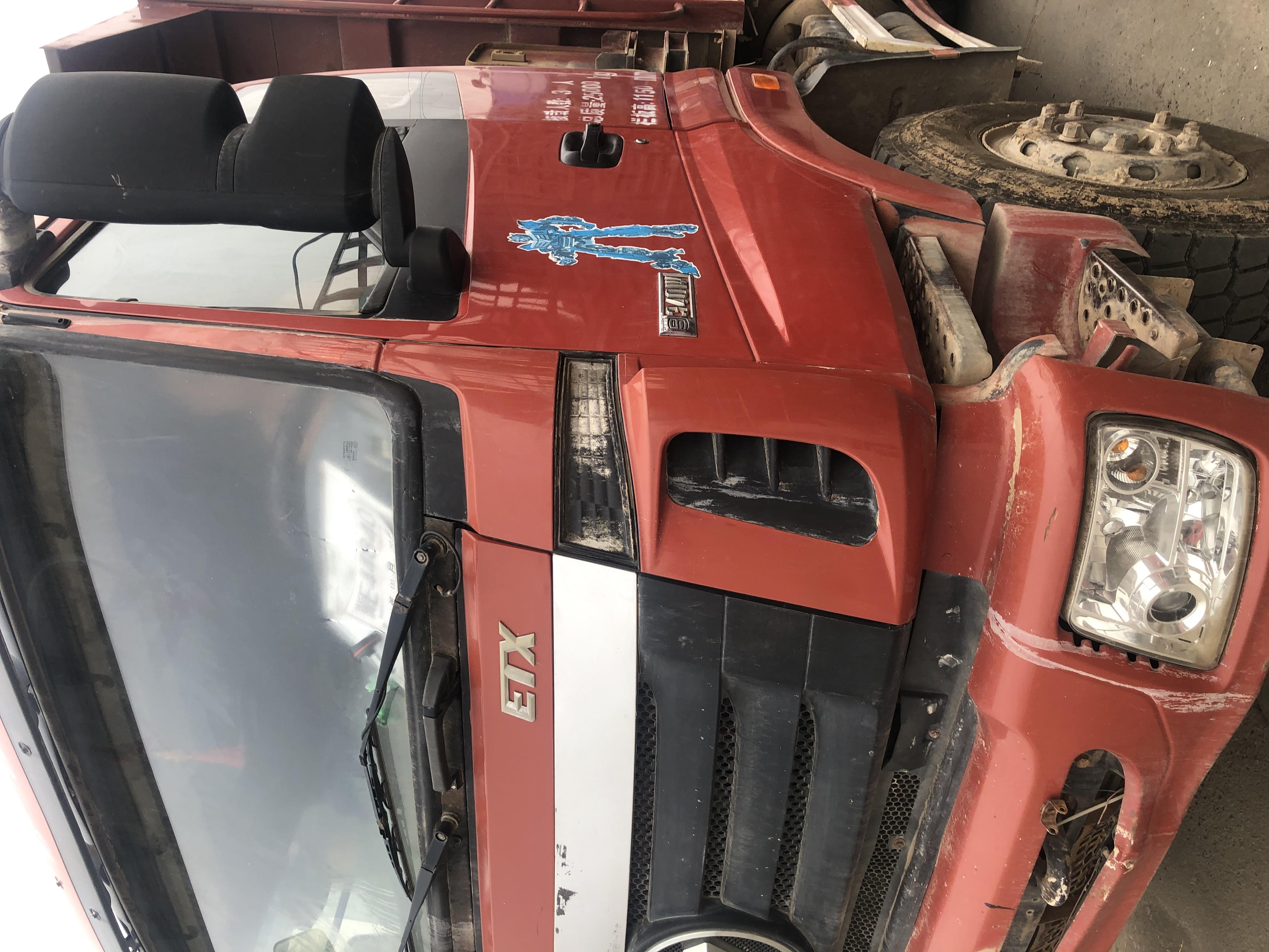 福田欧曼ETX 自卸车  380匹 2013年06月 6x4