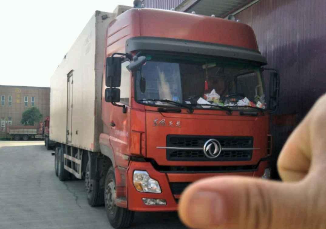东风天龙 冷藏车  260匹 2011年11月 8x4