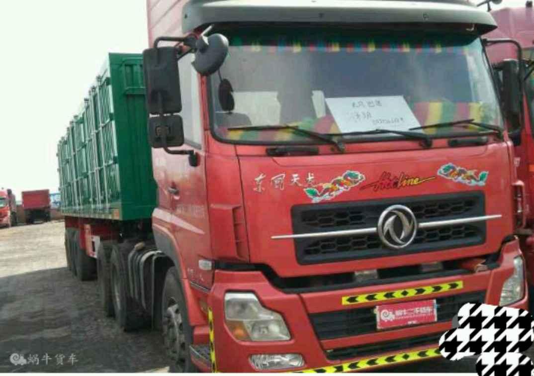 东风天龙 牵引车  375匹 2011年07月 6x4