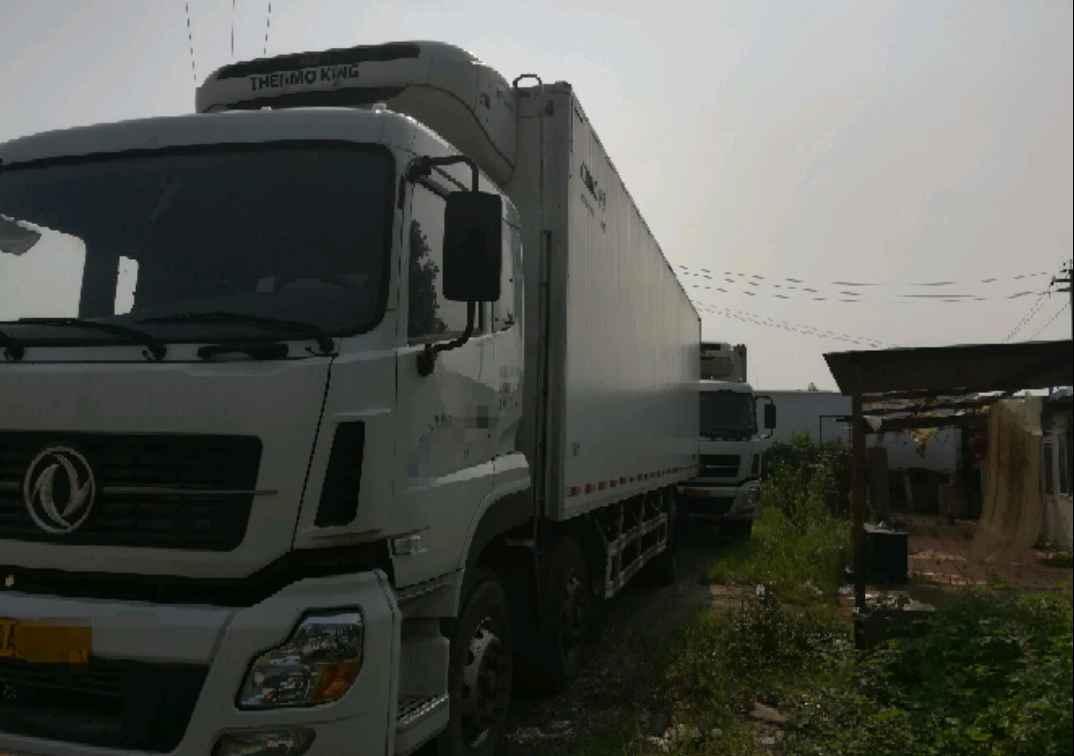 东风天龙 冷藏车  245匹 2015年05月 6x2