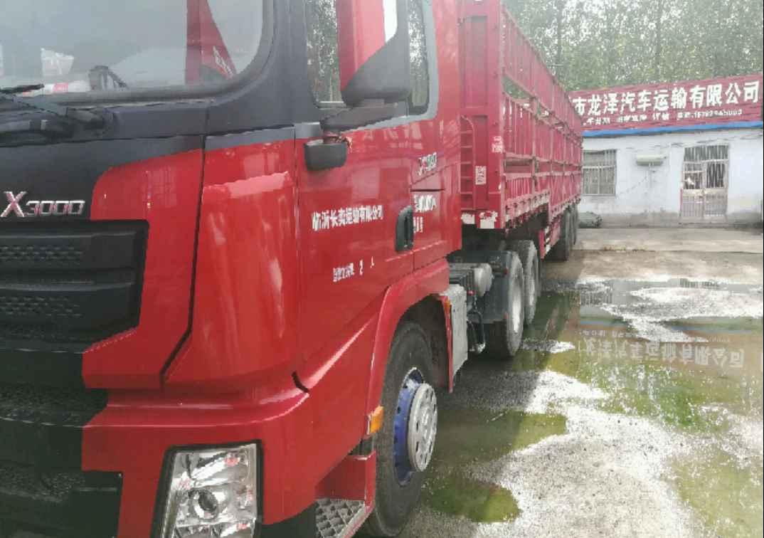 陕汽德龙X3000 牵引车  480匹 2016年05月 6x4