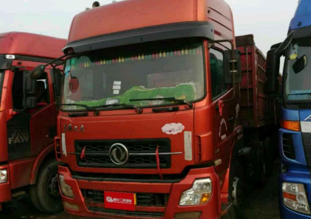 东风天龙 牵引车  340匹 2011年09月 6x4
