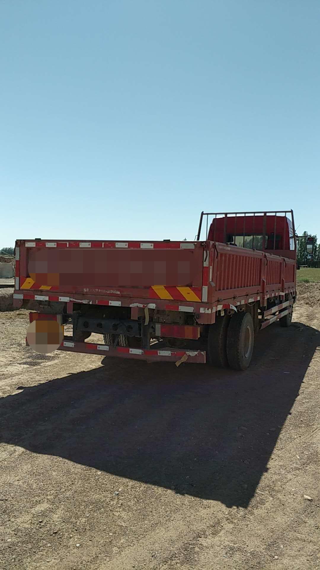 青岛解放其他车系 载货车  140匹 2012年07月 4x2