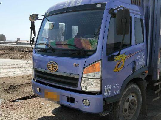 青岛解放其他车系 载货车  160匹 2013年07月 4x2