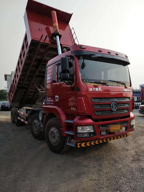 陕汽德龙M3000 自卸车  336匹 2014年10月 8x4