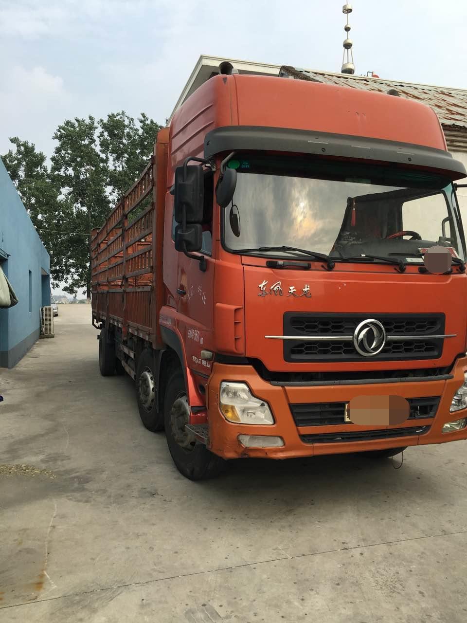 东风天龙 载货车  210匹 2011年01月 6x2