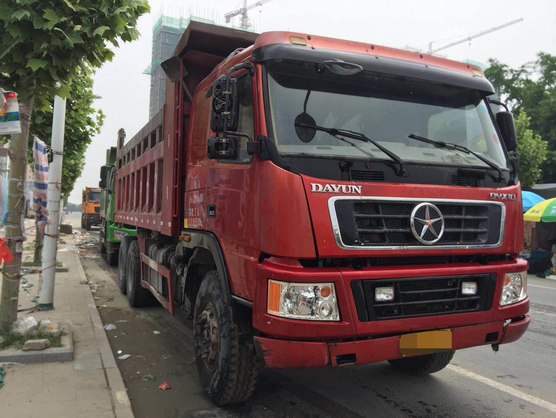 大运其他车系 自卸车  310匹 2011年11月 6x4