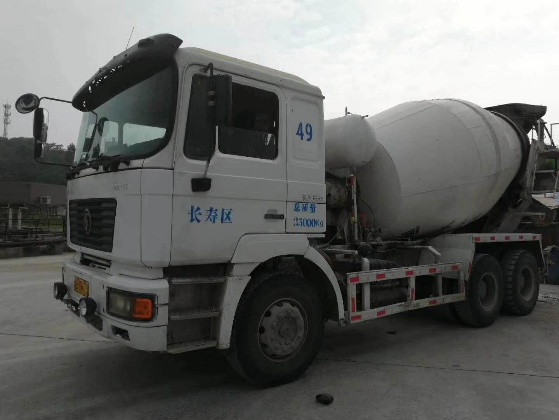 陕汽德龙F2000 混凝土搅拌车  336匹 2011年04月 6x4