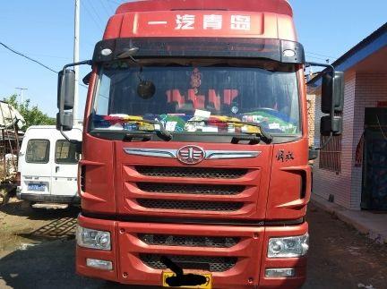青岛解放龙V 载货车  220匹 2017年12月 4x2