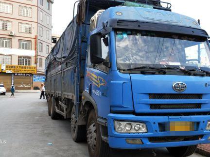 一汽解放其他车系 载货车  260匹 2009年09月 8x4