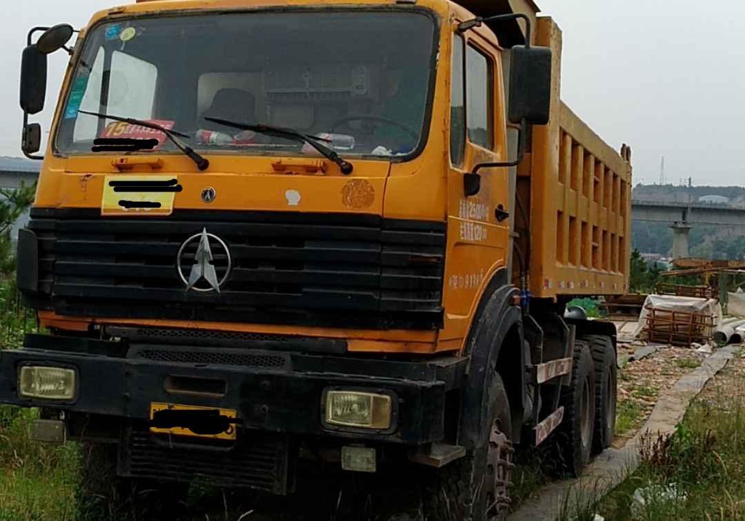北奔其他车系 自卸车  290匹 2010年05月 6x4