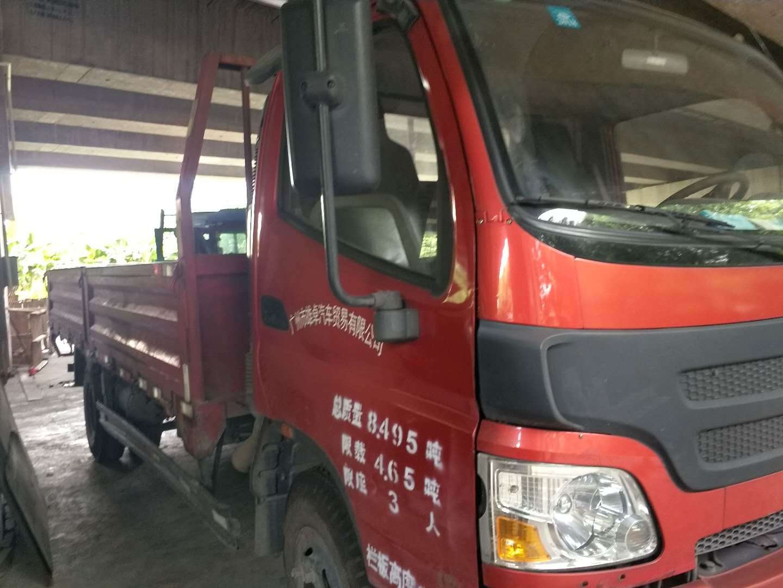 福田欧曼其他车系 载货车  95匹 2013年09月 4x2