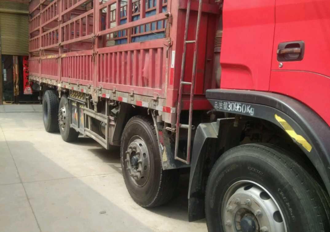 江淮格尔发K3X重卡 载货车  260匹 2014年01月 8x2