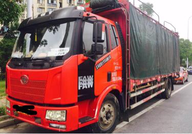 一汽解放J6 载货车  160匹 2014年09月 4x2