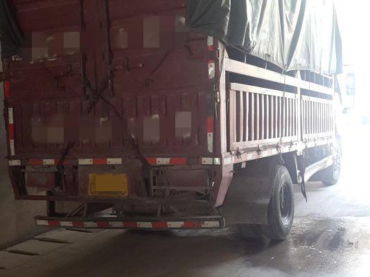 北汽福田其他车系 载货车  160匹 2012年12月 4x2